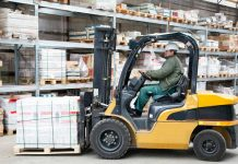 operate a forklift safely