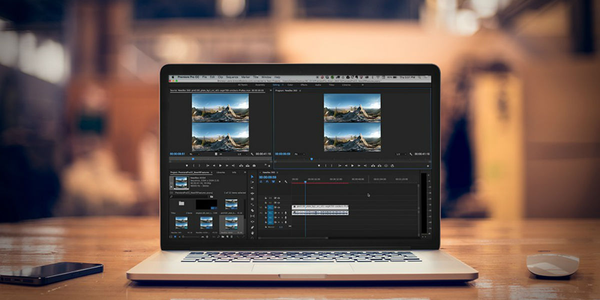 Photo and video editing