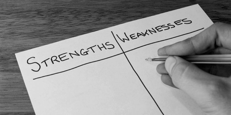 Knowing strengths and weaknesses