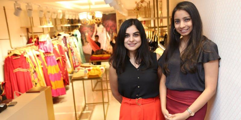 Tanvi Malik and Shivani Poddar