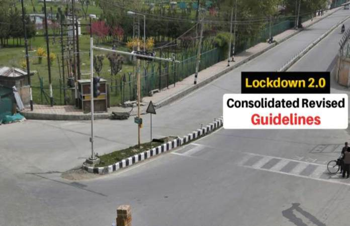 lockdown2 revised guidelines