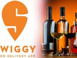 Alcohol home delivery swiggy