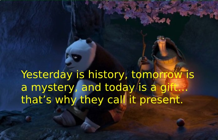 inspiring quotes from animated movies c