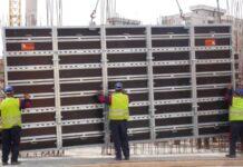Permanent Formwork Construction Method